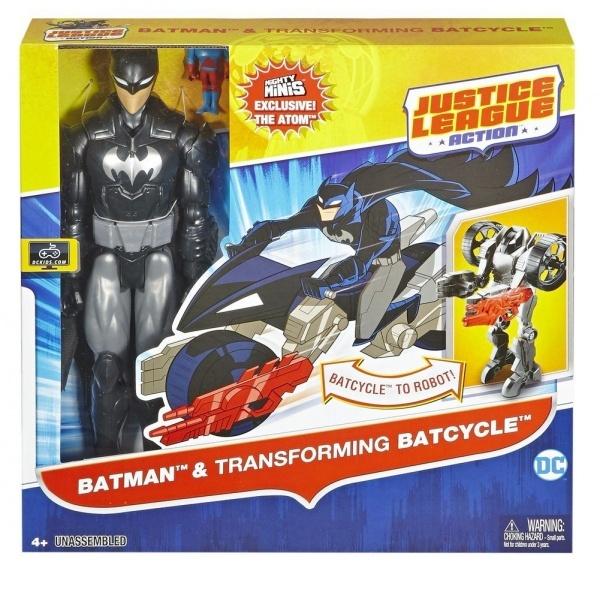 Justice League Araç ve Batman Figür 30 cm.