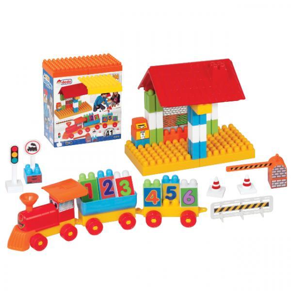 Blok Seti Tren İstasyonu