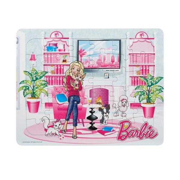 36 Parça Puzzle : Barbie ve Sevimli Köpekleri