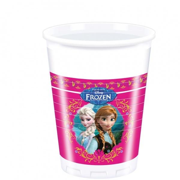 Frozen 8'li Plastik Bardak