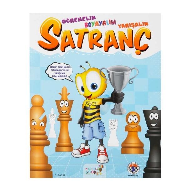 Satranç Kitabı: Öğrenelim Boyayalım Yarışalım