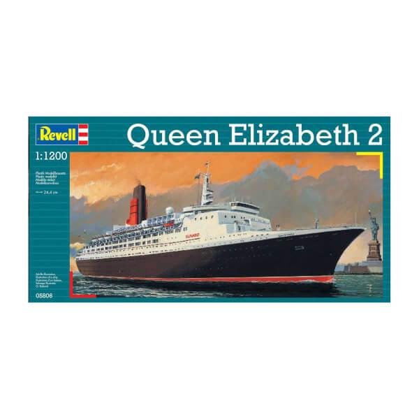 Revell 1:1200 Queen Elizabeth II Gemi 5806