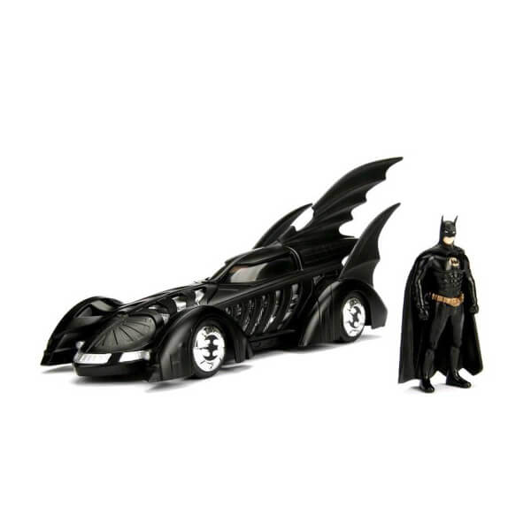 1:24 Batman Batmobile ve Mini Figür (Batman)