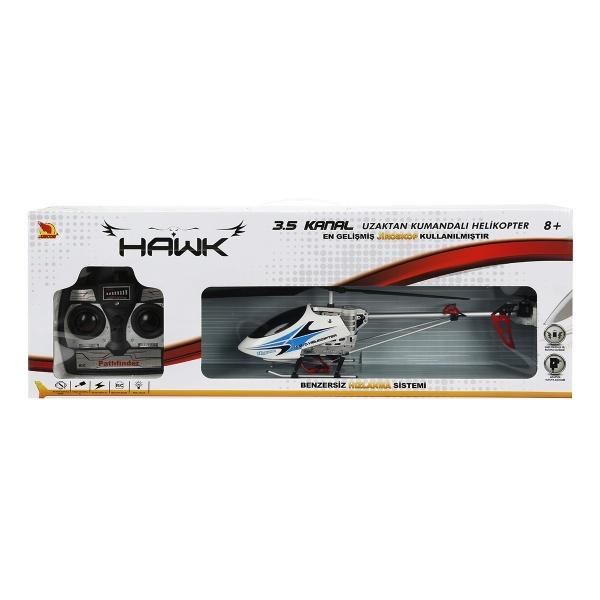 Uzaktan Kumandalı Hawk Helikopter 3,5 Kanal
