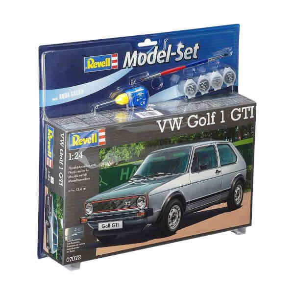 Revell 1:24 VWGolf GTI Model Set Araba