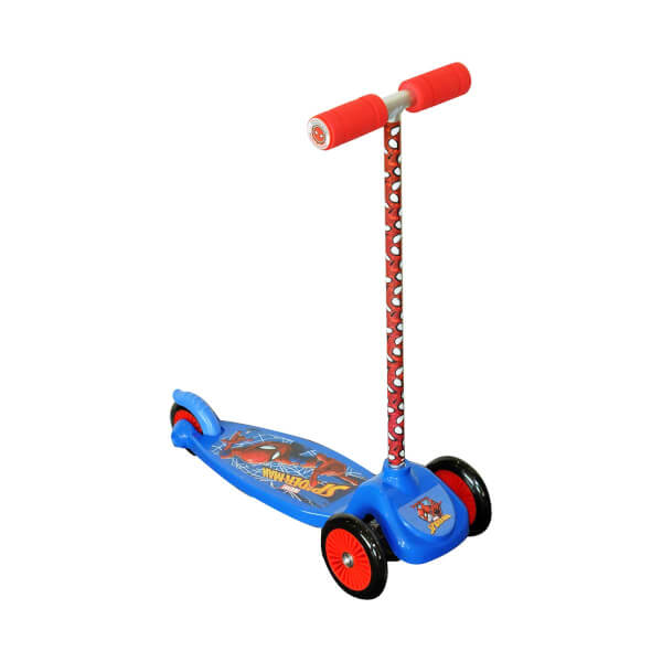 Spiderman 3 Tekerlekli Twist-Roll Scooter