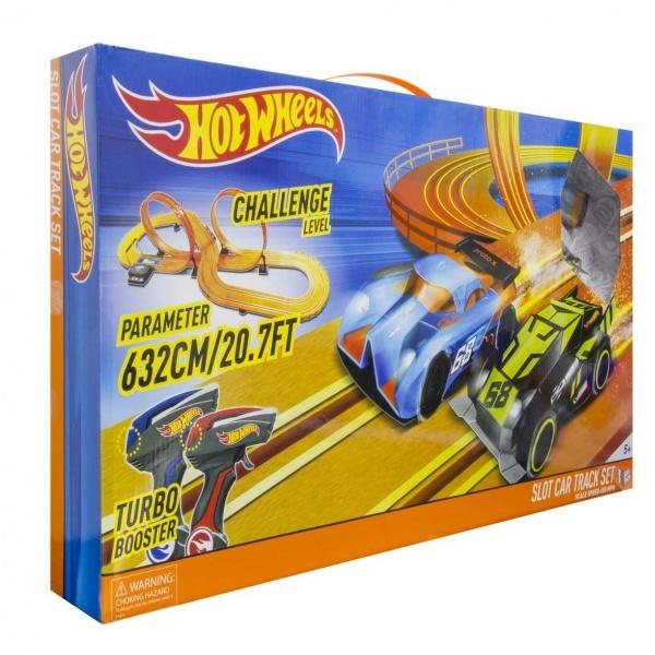 1:43 Hot Wheels Yarış Seti 632 cm.