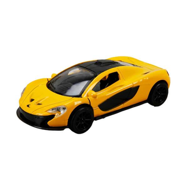 Sesli ve Işıklı Spor Araba 14 cm.