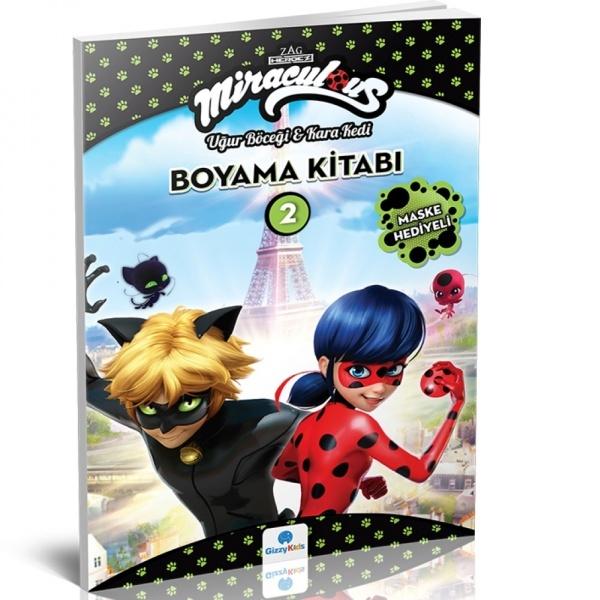 Miraculous Boyama Kitabı 2 Toyzz Shop