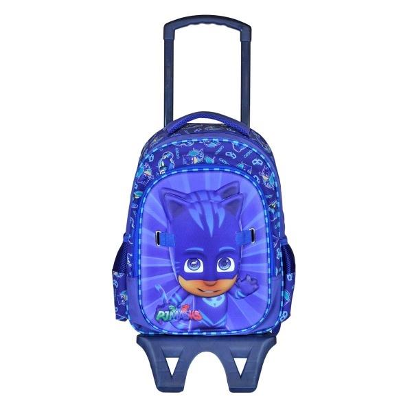 638b33cdbcf76 PijaMaskeliler Catboy Çekçekli Okul Çantası 95768 - Mavi | Toyzz Shop