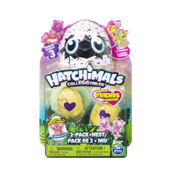 Hatchimals Colleggtibles 2'li Paket Seri 3