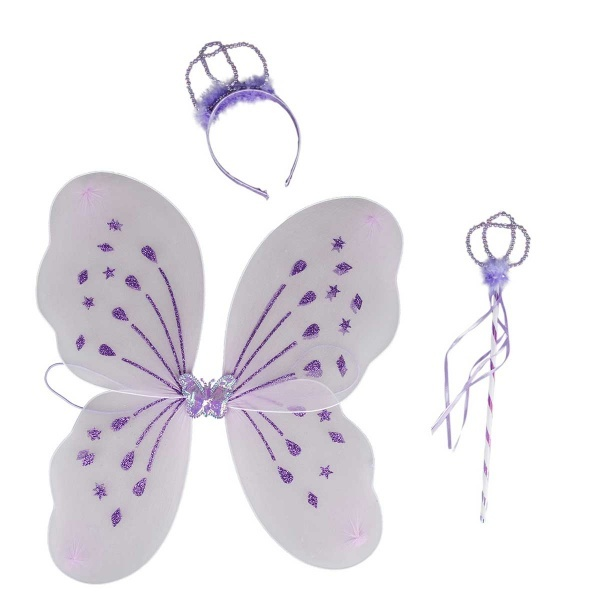 Kelebek Kanat Seti Mor Toyzz Shop