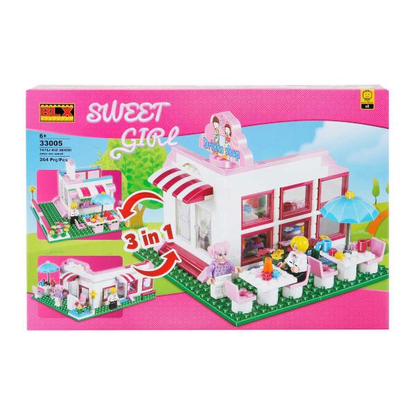 Şeker Kız Yapı Seti: Lunapark - Restoran