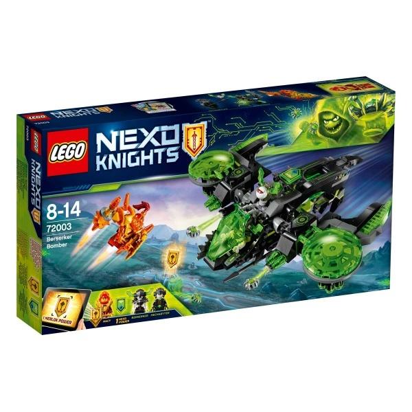 LEGO Nexo Knights Savaş Bombacısı 72003