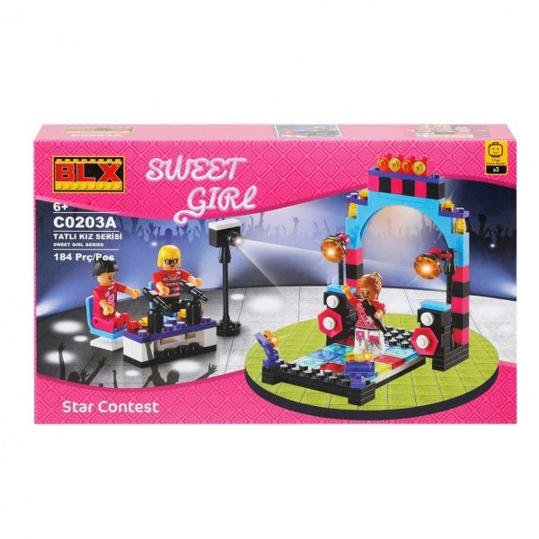 Şeker Kız Yapı Seti : Eğlence Zamanı