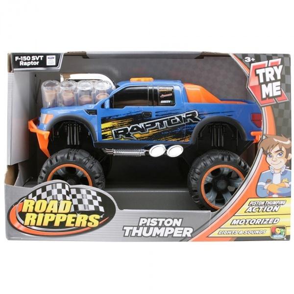 Road Rippers Dodge Ram Sesli ve Işıklı Araba