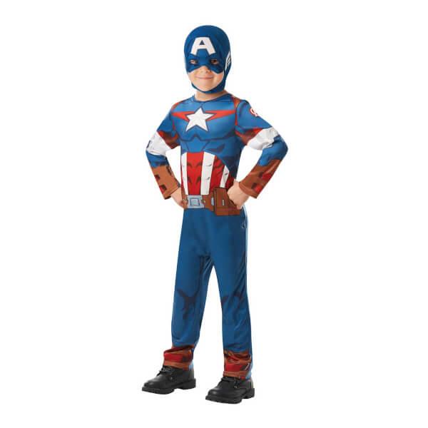Captain America Kostüm S Beden