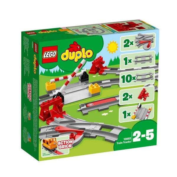LEGO DUPLO Town Tren Rayları 10882