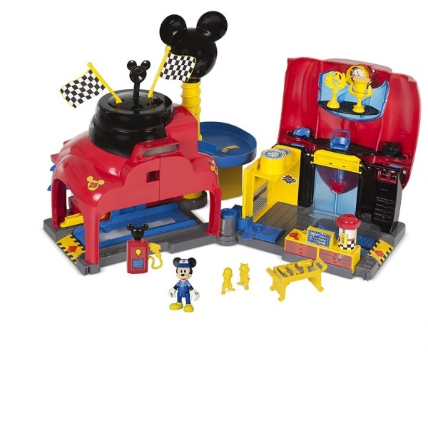Mickey Roadster Racers Garaj Seti