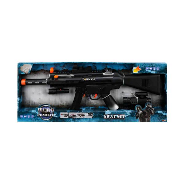 Sesli ve Işıklı Makineli Tüfek
