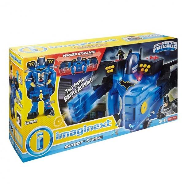 Imaginext DC Super Friends Xtreme Batbot FGF37