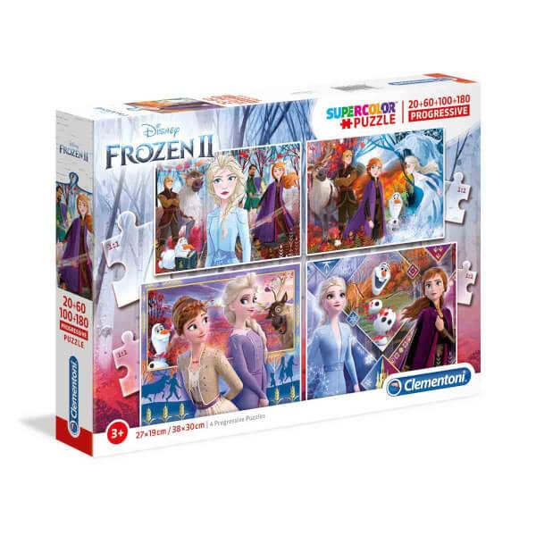 20 + 60 + 100 + 180 Parça Puzzle : Frozen 2