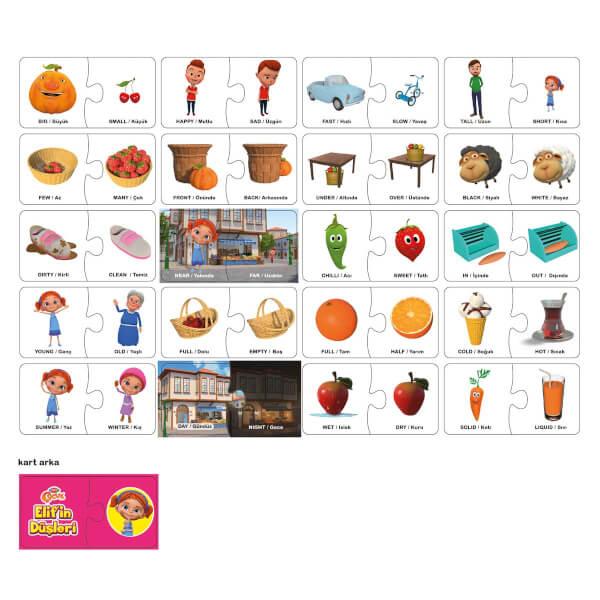 Elif In Dusleri Zit Kavramlar Birlestirme Karti Toyzz Shop