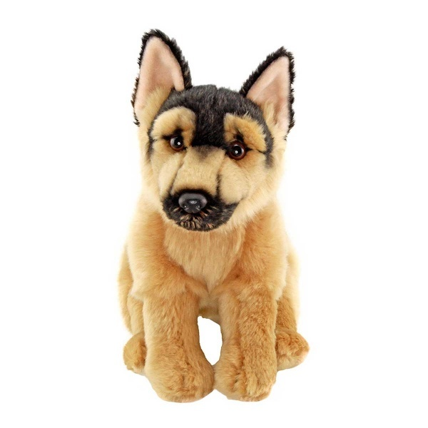 Floppy Alman Shepherd Peluş Köpek 28 cm.