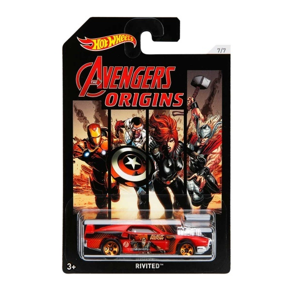 Hot Wheels Arabalar Avengers 3 Özel Serisi FKD48