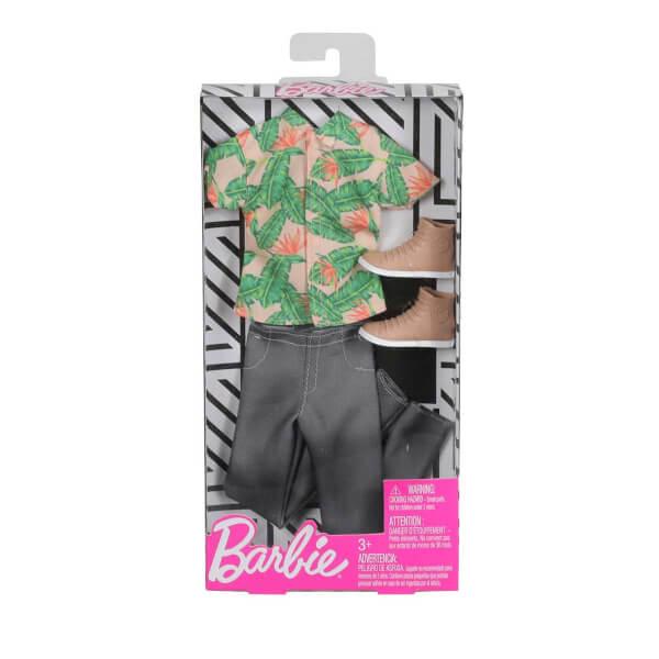 Barbie Ken In Havali Kiyafetleri Fyw83 Kamuflaj Desenli Polar
