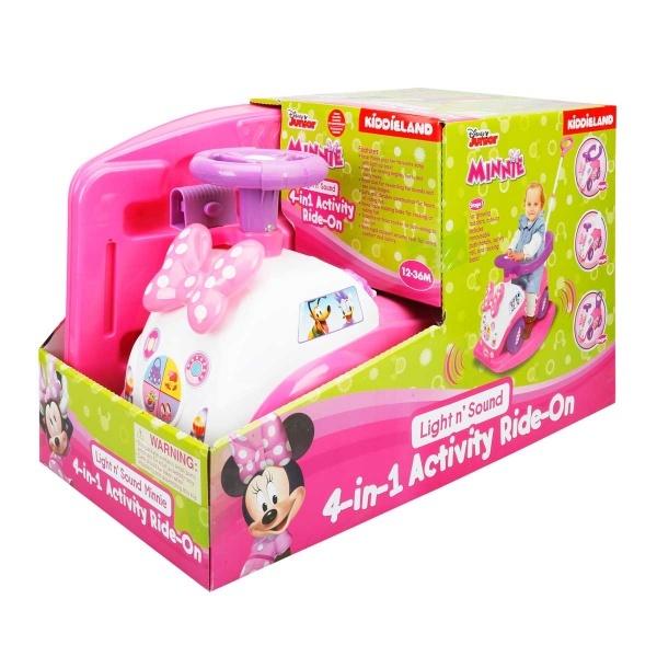 Minnie 4in1 Sesli ve Işıklı İlk Arabam