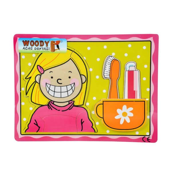 Diş Fırçalama 10 Parça Puzzle Kız Toyzz Shop