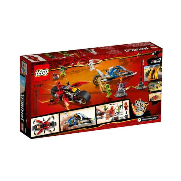 LEGO Ninjago Kai'nin Kılıç Motosikleti ve Zane'in Kar Motosikleti 70667