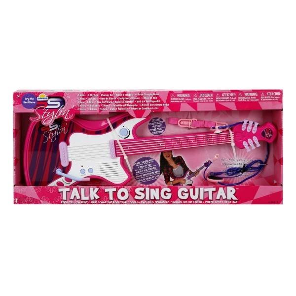 Pembe Elektronik Gitar