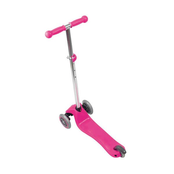 Primo Plus Işıklı 3 Tekerlekli Pembe Scooter