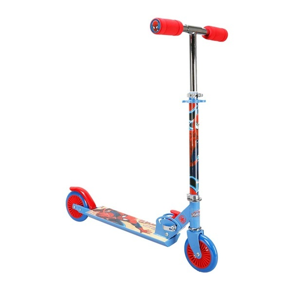 Spiderman 2 Tekerlekli Scooter