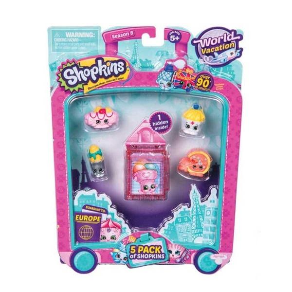 Cicibiciler Avrupaya Seyahat 5li Mor Toyzz Shop