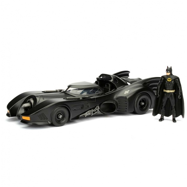 1:24 Batman 1989 Metal Batmobile ve Batman Figür