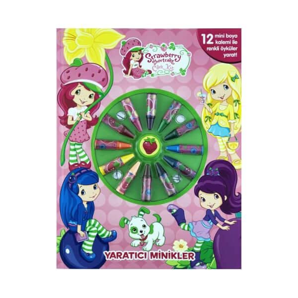 Cilek Kiz Yaratici Minikler Boyama Kitabi Toyzz Shop