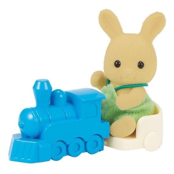 Sylvanian Families Bebek Tavşan ve Tren