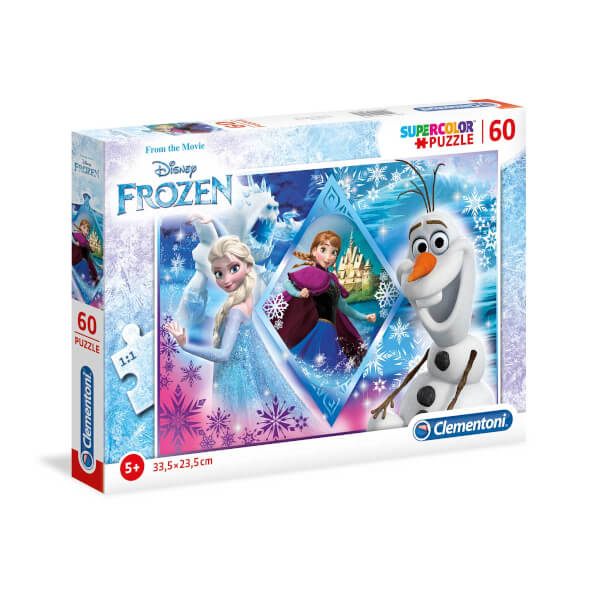 60 Parça Puzzle : Frozen Hope For The Kingdom