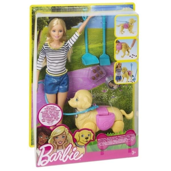 Barbie ve Tuvalet Eğitimindeki Köpeği