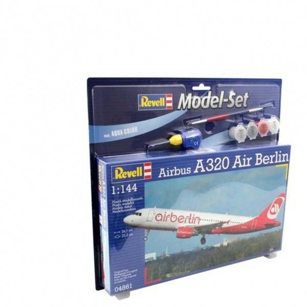 Revell 1:144 Airbus A320 Uçak Kit Set