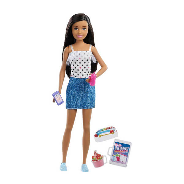Barbie Bebek Bakicisi Barbie Bebekler Fhy89 Kumral Yildizli