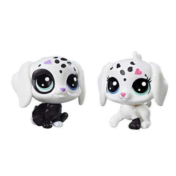 Littlest  Pet Shop Miniş Siyah-Beyaz Koleksiyonu İyi Dostlar C1848