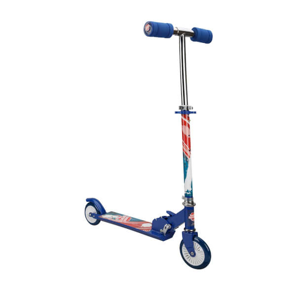 2 Tekerlekli Katlanabilir Mavi Scooter