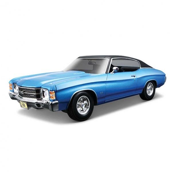 1:18 Maisto 1971 Chevrolet Chevelle SS 454 Model Araba