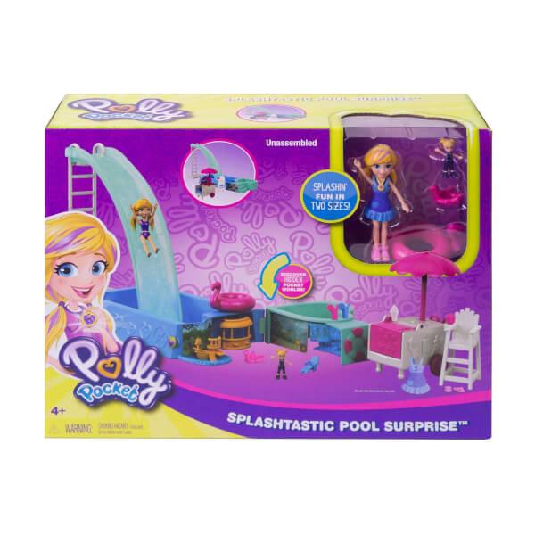 Polly Pocket Havuz Partisi Oyun Seti FTP75
