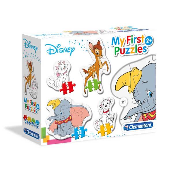 3-6-9-12 Parça Puzzle : My First Disney Classic