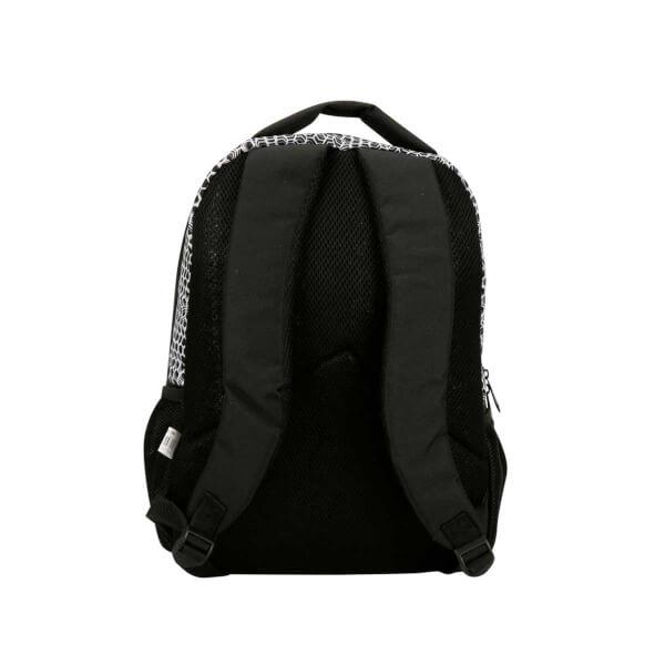 Cennec Sırt Çantası Desenli Siyah 701